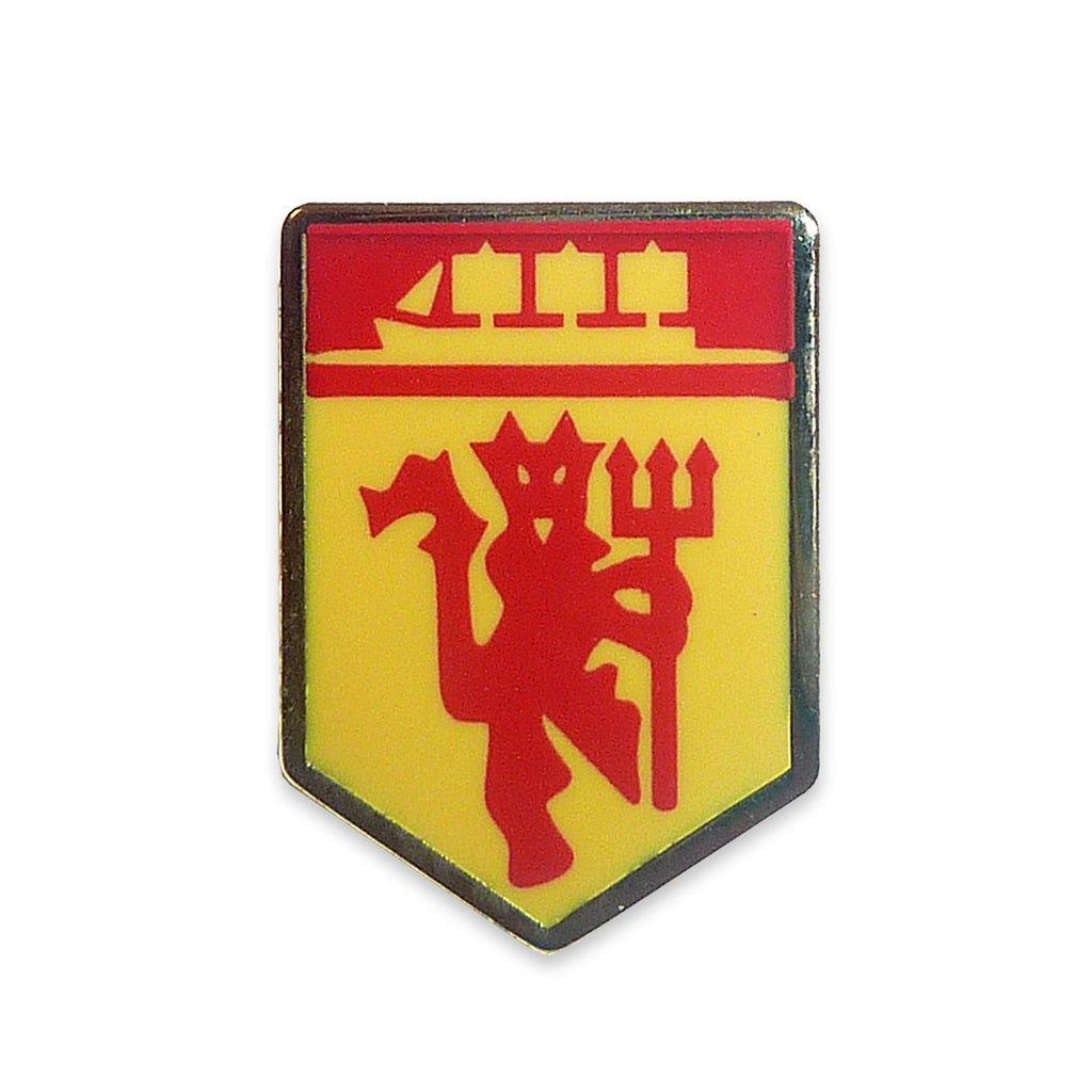 manchester united fc red devil ship pin badge footballshoponline rh footballshoponline com manchester united red devil logo vector red devil manchester united meaning