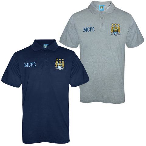 Manchester City FC Mens Polo Shirt