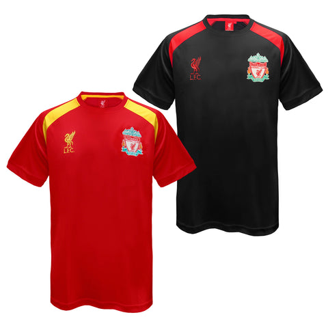 Liverpool FC Mens Poly T-Shirt
