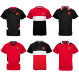 Manchester United FC Mens Poly T-Shirt