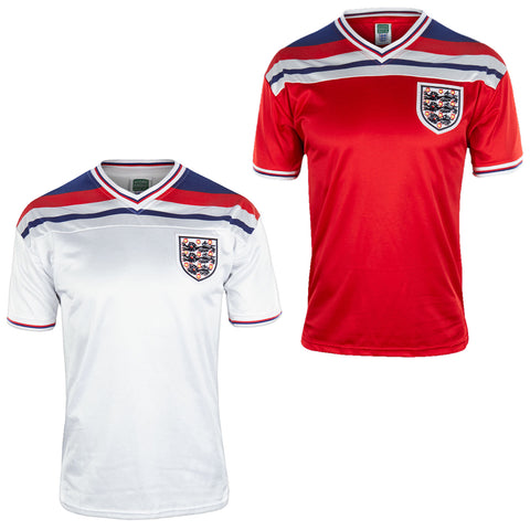 England Mens 1982 Home & Away Shirt