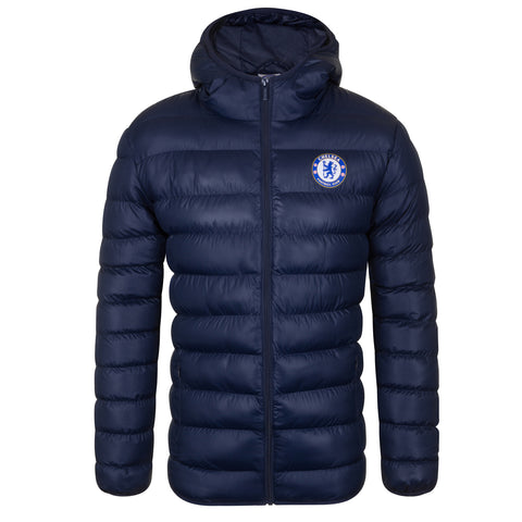 Chelsea FC Mens Quilted Jacket