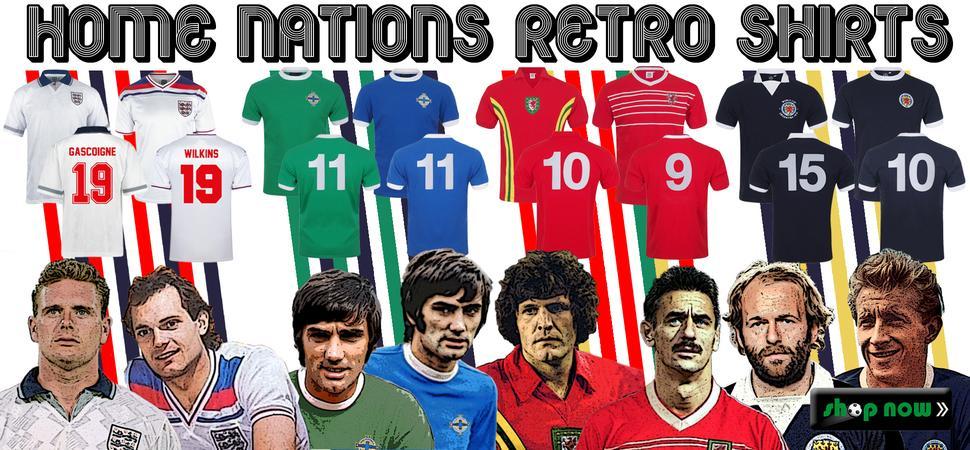 Home Nations Shirts