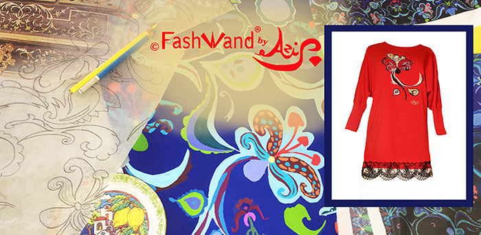 FashWand Dancing Flower Collection by Designer Azi