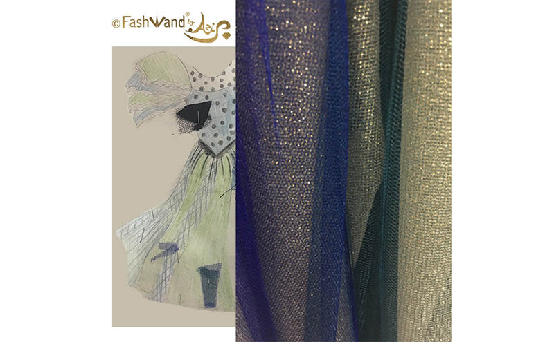 FashWand French Renaissance Royal Birds of Paradise Haute Couture Collection