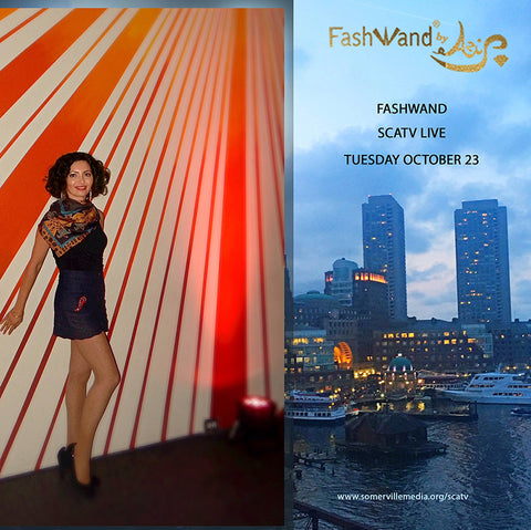 FashWand Live! Tuesday at Somerville Community Access Television!