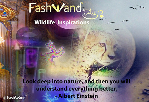 Introducing FashWand by Azi Wildlife Jewels® Wildlife Inspirations!