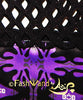 "FashWand Bamboo Mesh Net Panel Top ""Purple Squid"""