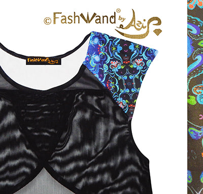 "FashWand Meshy Arte Top ""Dancing Flower"""