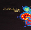 "FashWand Jeweled Embroidery Wool & Lace Top ""Dancing Flower"""