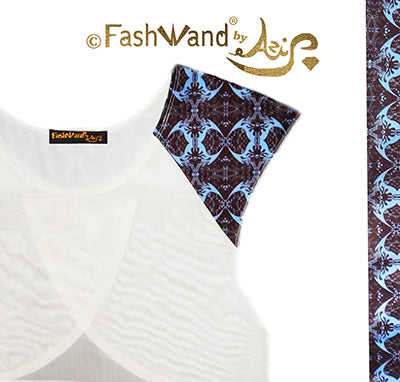"FashWand Meshy Arte Top ""Midnight Crest"""
