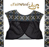 "FashWand Meshy Arte Top ""Gray Crest"""