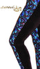"FashWand Velvet Lace Arte Leggings in ""Turquoise Sea Pens"""