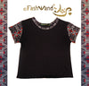 "FashWand Bamboo Arte Top ""Red Tiger"""