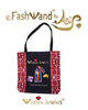 FashWand Wildlife Jewels Luxe Tote Bag in Ruby Jewels