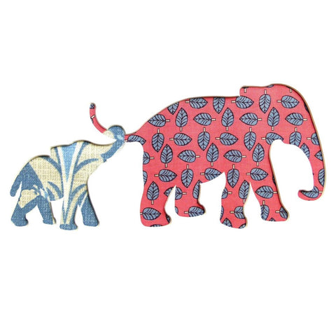 Two Elephant Card Square