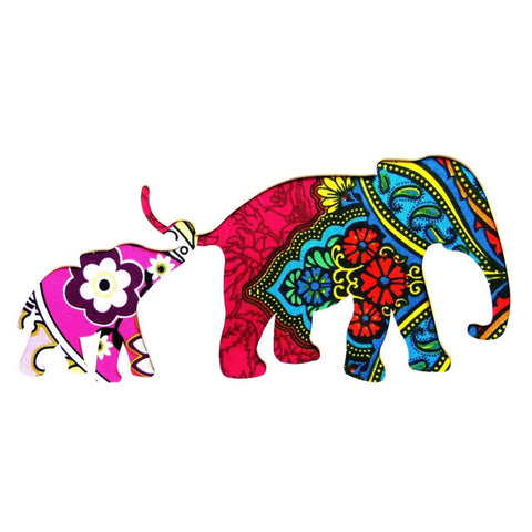 Two Elephant 3 Card Square