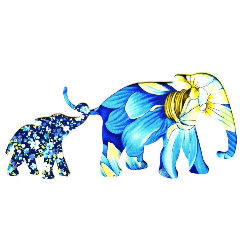 Two Elephant 4 Card Square