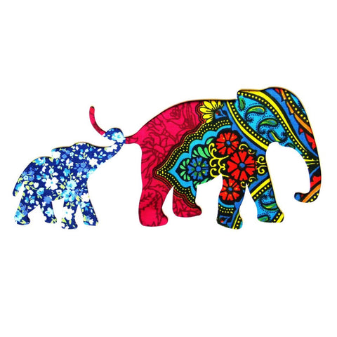 Two Elephant 5 Card Square