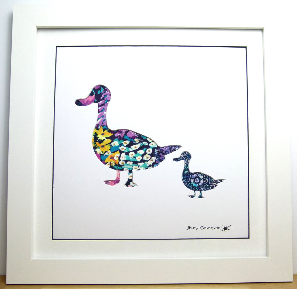LIBERTY OF LONDON FABRIC DUCK PARENT & CHILD