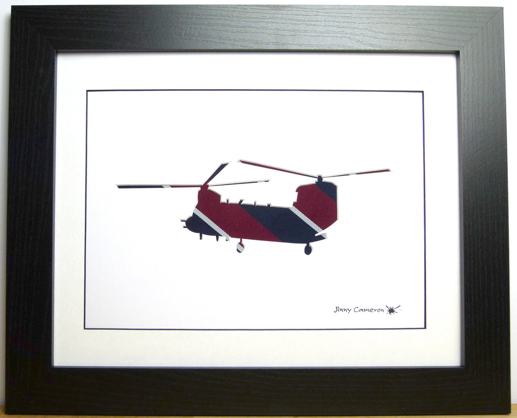 ROYAL AIR FORCE TIE CHINOOK PICTURE 3860