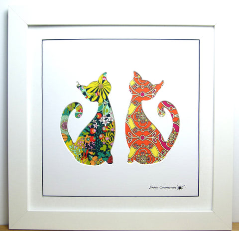 LIBERTY OF LONDON FABRIC CATS