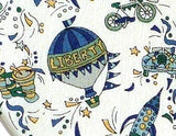 HOT AIR BALLOON DESIGN #1 IN LIBERTY FABRIC