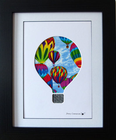 HOT AIR BALLOON DESIGN #2 IN TIMELESS TREASURE FABRIC