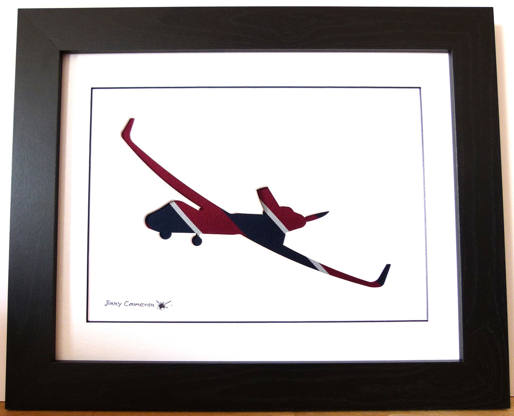 Protector drone RAF tie silhouette picture wall art