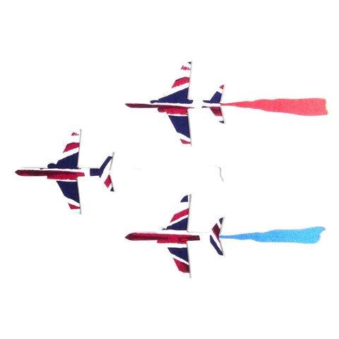 Red Arrows Card Square