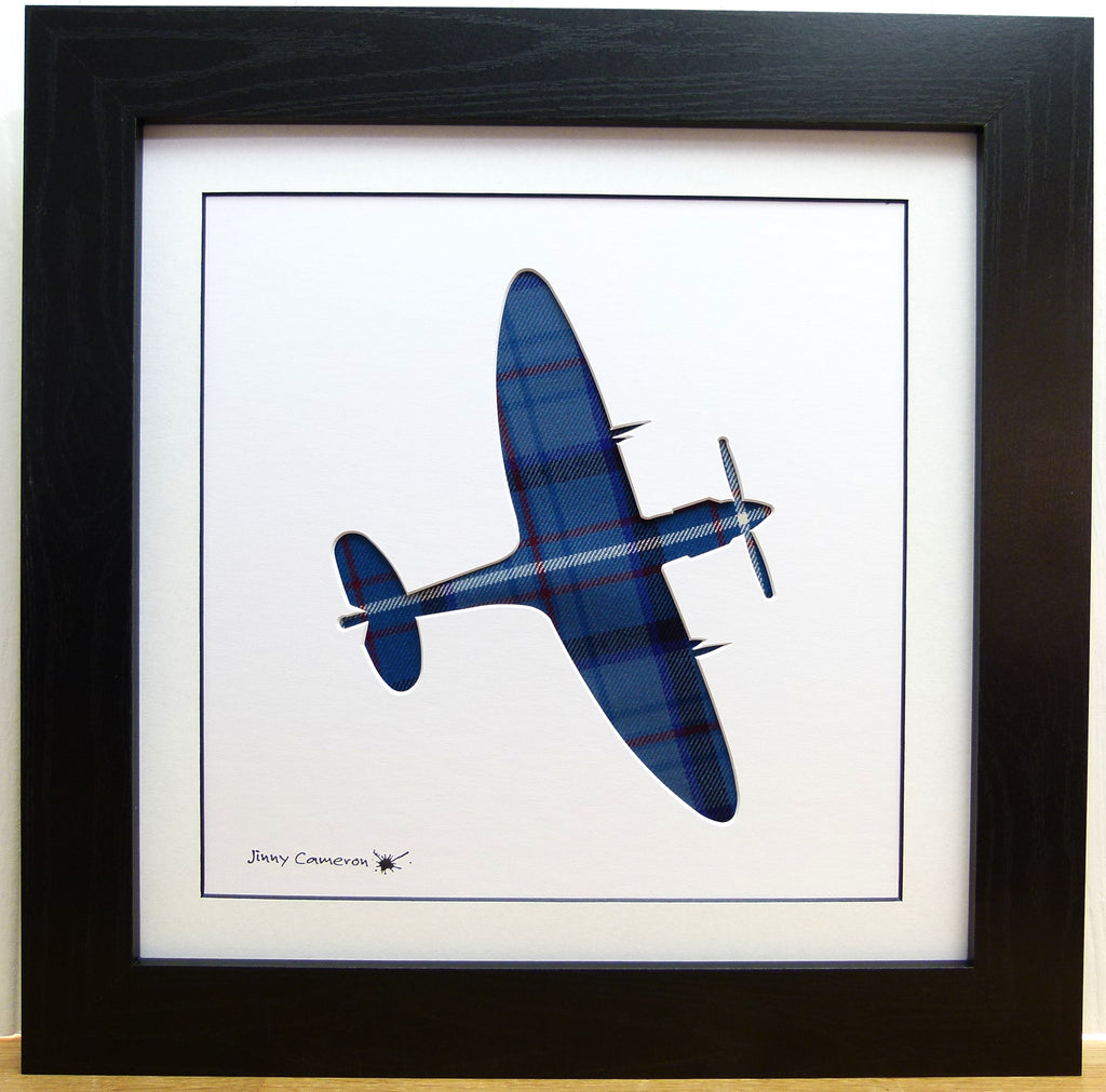 SPITFIRE IN ROYAL AIR FORCE TARTAN