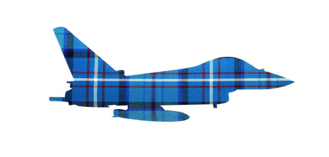 Typhoon Profile Tartan Rectangular Card