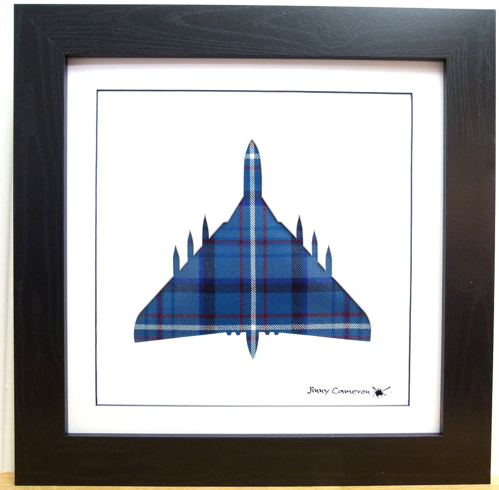 VULCAN IN ROYAL AIR FORCE TARTAN