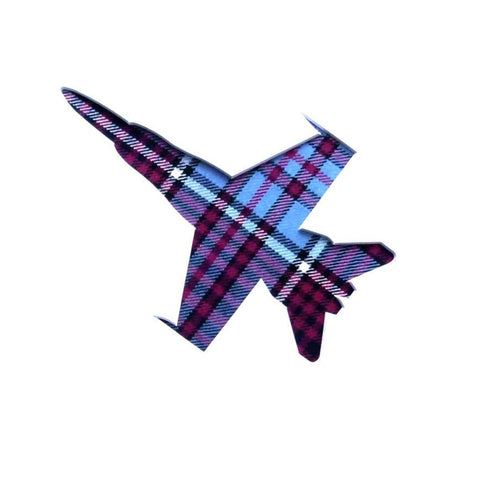 CF18 Card Square in RCAF Tartan