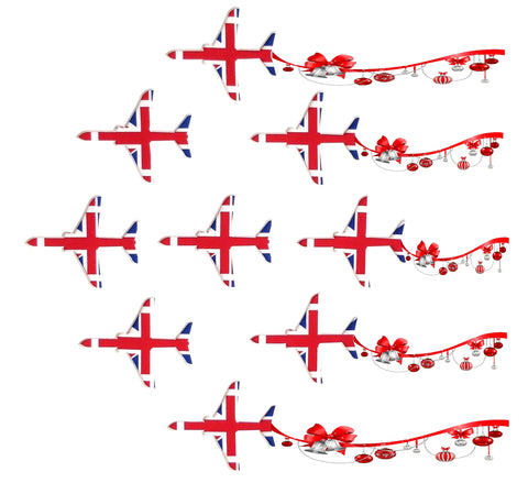 9 Red Arrows