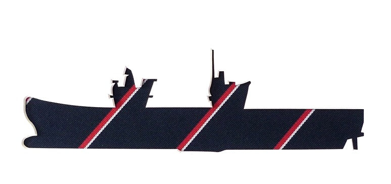HMS Queen Elizabeth Royal Navy Tie QE2 Aircraft Carrier F35