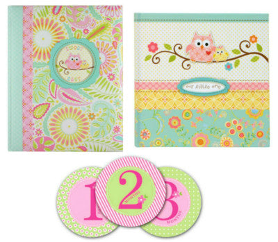C. R. Gibson Baby Gift Set With Memory Book, Happi Baby