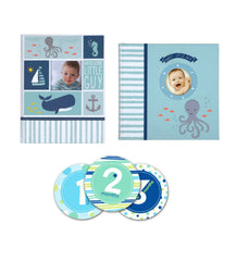 Carters Under The Sea Baby Memory Book Gift Set