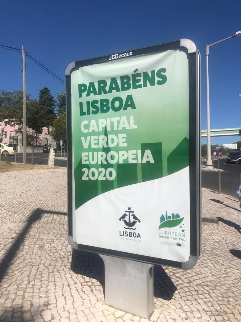 Lisboa is European Green Capital 2020