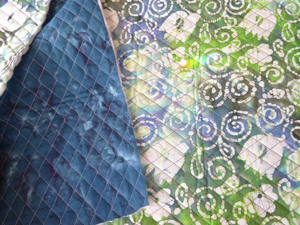 Double Faced Quilted Fabric By The Yard Kreativity Abounds
