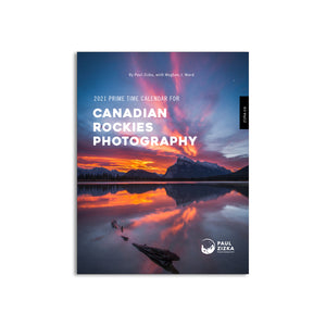 2021 Prime Time Calendar for Canadian Rockies Photography