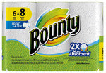 Bounty 6PK WHT Towel