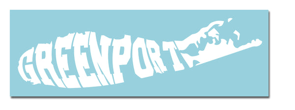 Greenport Vinyl Transfer Sticker