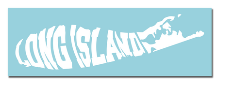 Long Island Vinyl Transfer Sticker