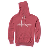 North Fork Skyline - Mattituck Red Vintage Hoodie