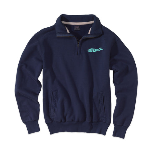 Long Island Logo - Peconic Blue 1/4 Zip