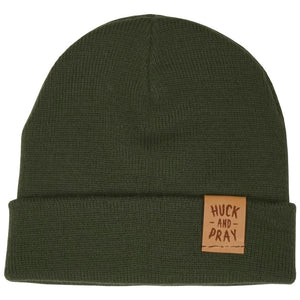Huck and Pray Fisherman Beanie