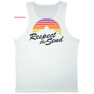 Respect the Send Sunset Rippers Tank