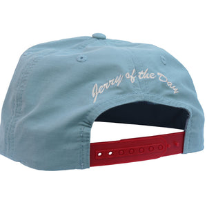 Jerry of the Day Respect the Send String Grandpa Hat Blue Back