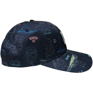 Jerry Hawaiian Print Hat
